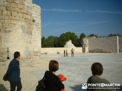 Coca - Ruta de castillos - Castillos Valladolid - Castillos Segovia - Castillo Iscar; lugares para v